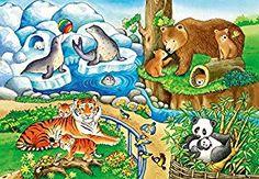 Animals in zoo. Zoo 2, Kids Zoo, Animal Print Skirt, Animal Print Fashion, Animal Cartoon Video, Cartoon Art, Animal Tattoos For Men, Wild Lion, Animal Design