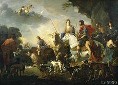 Jan Miel - Royal Hunt of Dido and Aeneas