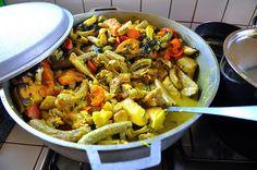 Oil Down - Grenada's National Dish