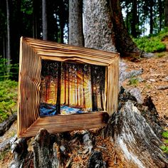 Shops, Firewood, Etsy Shop, Texture, Crafts, Pictures, Wood Picture Frames, Photo Frame Ideas, Craft Gifts