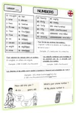 numbers2 Document, Numbers, Up, English Verbs, Conversation In English, Learn English, Vocabulary
