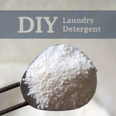 Making your own laundry detergent is easier than mixing up a batch of cookies and costs only pennies per load. Follow the steps below to make your own.