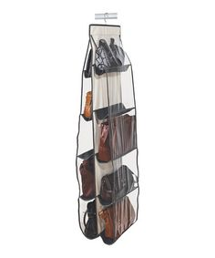 Organization of pocketbooks - This is of course not a purse, handbag or pocketbook, but it deserves a place here too. Great idea! I need one...uh...maybe two!!!!!