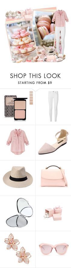 """Newchic"" by asia-12 ❤ liked on Polyvore featuring Burberry, Cynthia Rowley, NAKAMOL, Karen Walker and newchic"