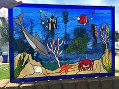 Resultado de imagem para seahorses in stained glass