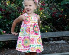 INSTANT DOWNLOAD The Twirly Dress Size 1 to 10 by sewsweetpatterns