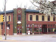 Benton Park Cafe...open 24 hours, excellent breakfast. Love this place.