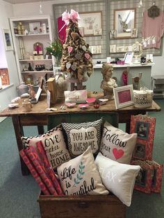 of are looking pretty in pink this week! Lesa and Trudy have been excited to display all the gorgeous new things arriving in our stores. How To Look Pretty, Pretty In Pink, Hello Beautiful, Rafting, Throw Pillows, Display, Home, Floor Space, Cushions