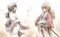 Kenshin and Tomoe