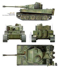 Tiger I Army Vehicles, Armored Vehicles, War Thunder, Military Armor, Tiger Tank, Model Tanks, Military Modelling, Ww2 Tanks, World Of Tanks