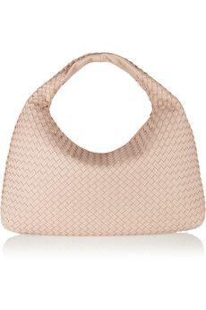 Bottega Veneta Large Veneta intrecciato leather shoulder bag | NET-A-PORTER
