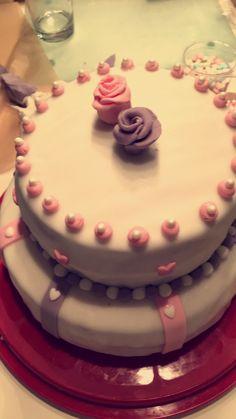 #wedding #cake #fondant #selfmade