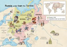 Russian History map [ Kim su yeon ]