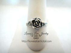 Dainty Rose Ring. Starting at $1