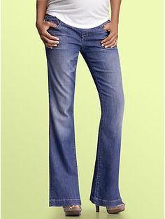 1969 demi panel long & lean jeans | Gap...LONG jeans for tall pregnant women!!!! YAY!!!