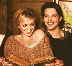 Hannah Spearritt & Andrew-Lee Potts. They are so cute.