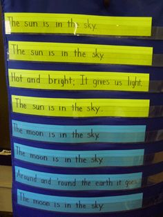Even though these ideas are obviously for younger children, I would tweak some ideas. For example, I could use the idea of pasting characteristics of the sun, moon, and earth onto plates and have the children go around the room guessing which fact goes with which one. For example, I could record the masses of each body and have them match the correct mass with the correct celestial body.