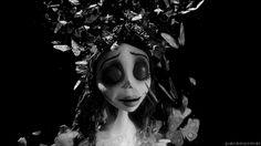 black and white corpse bride gif