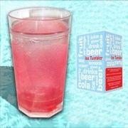 Verre réfrigéré : la boisson est toujours fraîche !