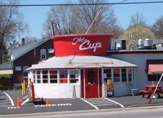 The Cup, an outlet for Levengood Dairy in Pottstown, PA This is where I had my first date.