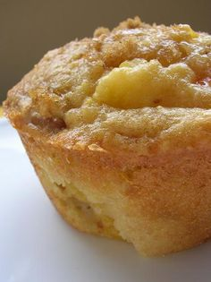 Peach pecan muffinsPeach Pecan Muffins    3/4 cup almond meal  3/4 cup cake flour  1/4 cup all-purpose flour  1 cup brown sugar  1/2 tsp salt  1 egg  1/2 tsp baking soda  3/4 tsp vanilla extract  1/2 cup sour cream or yogurt  2 TBSP canola oil  2 medium peaches, peeled, and diced  1/3 cup chopped pecans