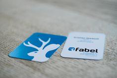 Fabel, visitkort / business card