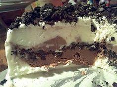 Dairy Queen Ice Cream Cake ~ Chocolate ice cream, Chocolate fudge and Oreos!