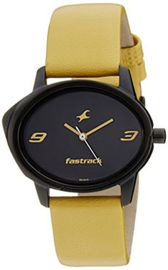 Fastrack Analog Multi-Color Dial Women's Watch - http://brandedstore.in/product/fastrack-analog-multi-color-dial-womens-watch-6098nl02/