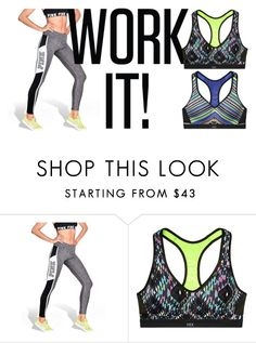 """""""I Work Out!"""" by christina-sherwood29 on Polyvore featuring Victoria's Secret and Gypset"""