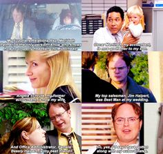 The Office finale. This part brought the tears :...(
