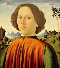 Biagio d'Antonio (painter) Italian, c. 1446 - 1516 Portrait of a Boy, c. 1476/1480.