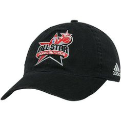4fb06a57a81 NBA adidas 2013 NBA All-Star Game Adjustable Hat - Black by adidas.  21.95.  Quality embroidery. Adjustable buckle strap with snap button.