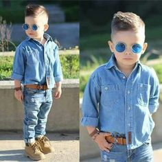 Kids Clothes Stores Near Me Info: 5219072621 Toddler Swag, Toddler Boy Fashion, Little Boy Fashion, Toddler Boy Outfits, Girl Fashion, Stylish Baby, Stylish Kids, Outfits Niños, Kids Outfits