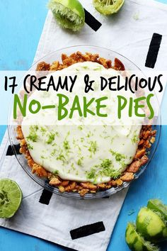 17 No-Bake Pies That Just Want To Be Loved