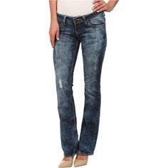 Antique Rivet Willow Juniors Boot Jeans in Morrison Women's Jeans, Blue