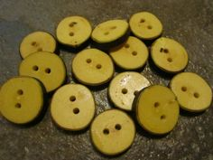 14 Sugar Maple Tree Branch Buttons. Just Under by PymatuningCrafts, $8.40