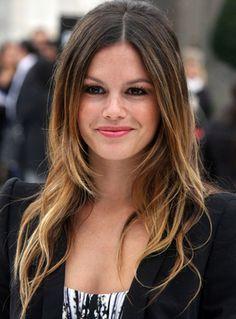 omber hair on brunette medium length - Google Search