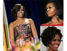 9 of Michelle Obama's Most Stunning Hair Moments: From Sharp Bobs to Cropped Curls, We LOVE Her Lustrous Mane!