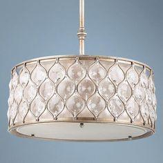 "Feiss Lucia Collection 18 1/2"" Wide Pendant Light - #N6461 | LampsPlus.com"