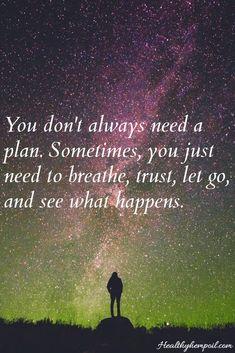 Breathe. Trust. Let Go. #inspire #motivate #strength