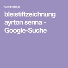 bleistiftzeichnung ayrton senna - Google-Suche