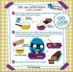Cake aux petits beurre