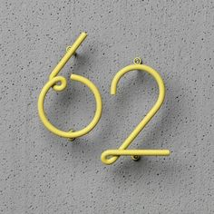 The Wire Number is a numeral system from NakNak Design suitable for interior and exterior use. Inspired by the beauty of customized door numbers on old streets and downtown neon. Super cool and unique!