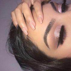 New post on glam--andglitter Makeup Goals, Love Makeup, Makeup Inspo, Makeup Inspiration, Beauty Makeup, Women's Beauty, Makeup Ideas, Prom Makeup, Bridal Makeup