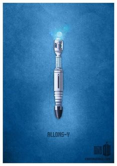 "Minimalistic ""Doctor Who"" illustrations by Karma Orange."