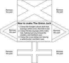 Folding union jack