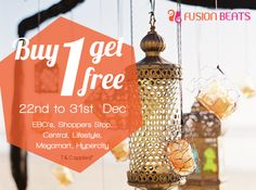 Pamper yourself this Christmas, Buy one and get one absolutely free.