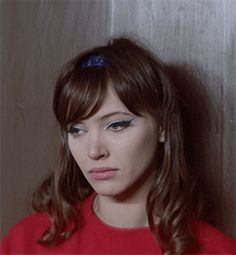 The French New Wave and Godard's muse and just a gorgeous woman, Anna Karina Anna Karina, Brunette Beauty, Hair Beauty, French New Wave, Jean Luc Godard, Isabelle, Gorgeous Women, Hair Inspiration, My Hair