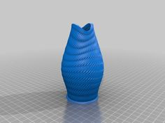 Fish Mouth Vase (closed wall) by Zebra404.
