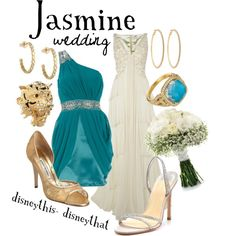 Wedding Dresses Disney Jasmine Inspired Outfits 31 New Ideas Princess Jasmine Wedding, Aladdin Wedding, Disney Wedding Dresses, Disney Weddings, Fairytale Weddings, Themed Weddings, Intimate Weddings, Disney Princess Outfits, Disney Dress Up